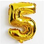 بالون-هيليوم-رقم-5-ذهبي