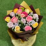 A bouquet of curious roses 1