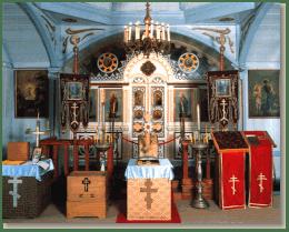 【会認定】 北鹿ハリストス正教会聖堂・聖像画(イコン)