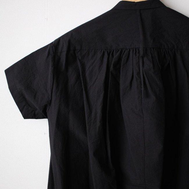 サマーヘムレンシャツワンピース #black