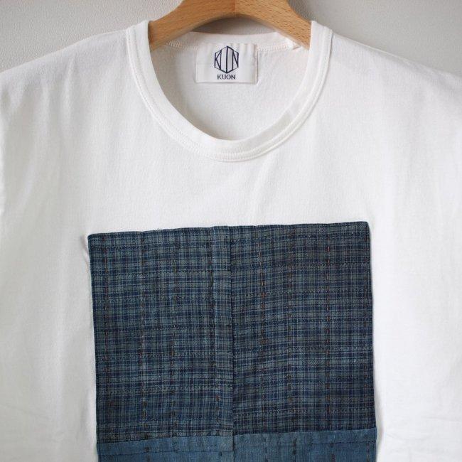 襤褸ショートスリーブTシャツ #white L