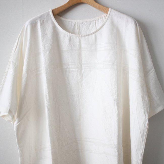 basic fuwa-T HALF SLEEVES #white 再入荷