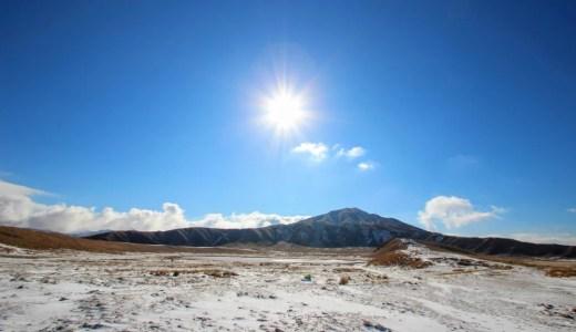 1年に数回だけ!冬の草千里ヶ浜で美しい雪化粧を見てきた!