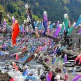 杖立温泉こいのぼり祭り