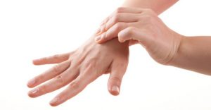 hands-on tingling-healthy