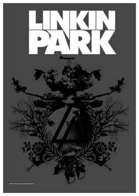 poster flag linkin park 893