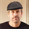 Hugh Laurie, Interview magazine, David Mushegain, pug