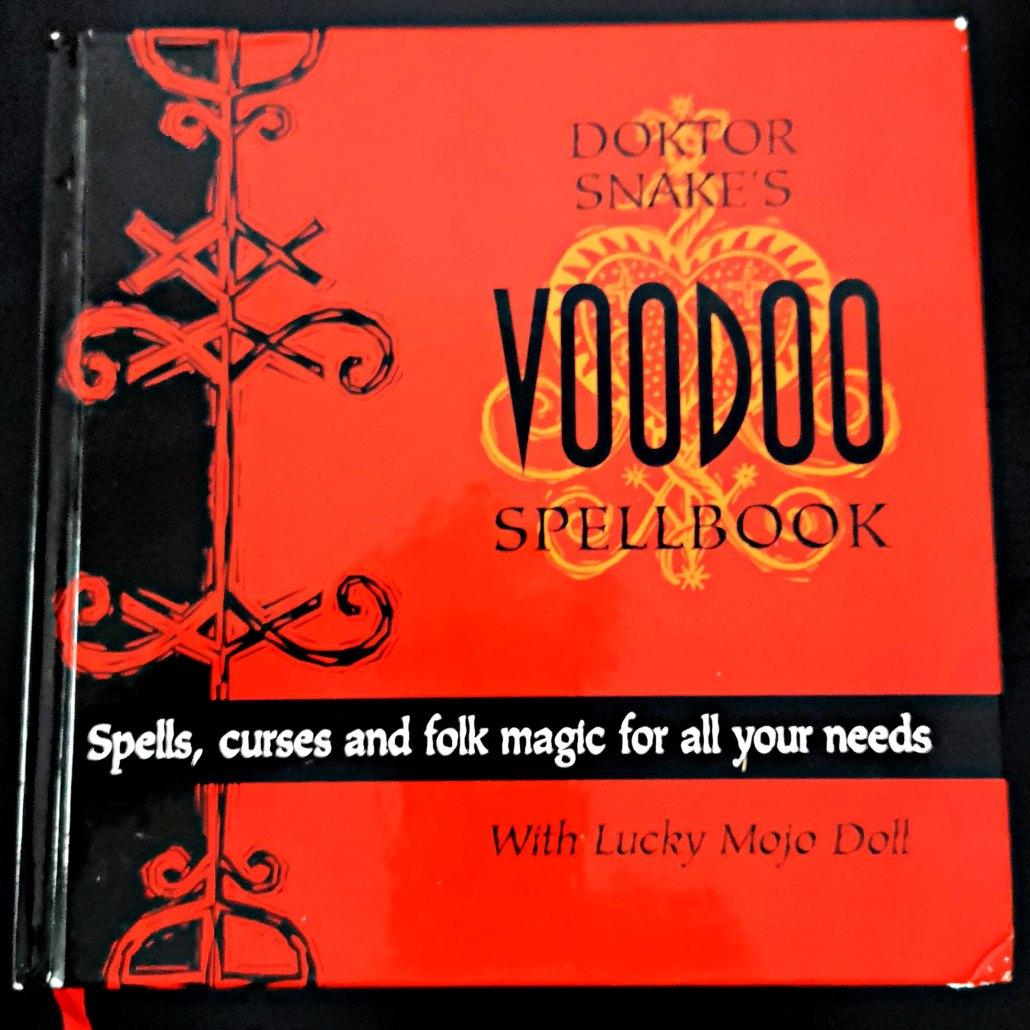 Doktor Snake's Voodoo Spellbook, original edition