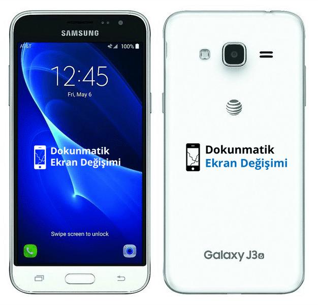 Samsung J3 2016 Ekran Değişimi