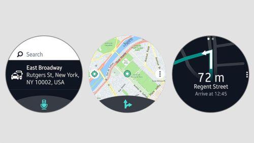 Samsung Galaxy Watch Here WeGo Uygulaması