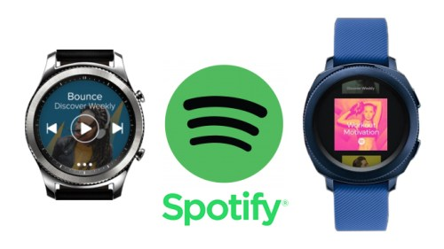 Samsung Galaxy Watch Spotify Uygulaması