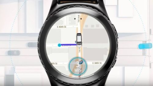 Samsung Galaxy Watch Uber Uygulaması