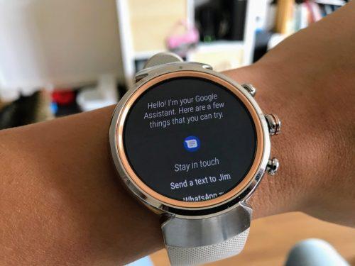 Asus ZenWatch 3 Android Akıllı Saat