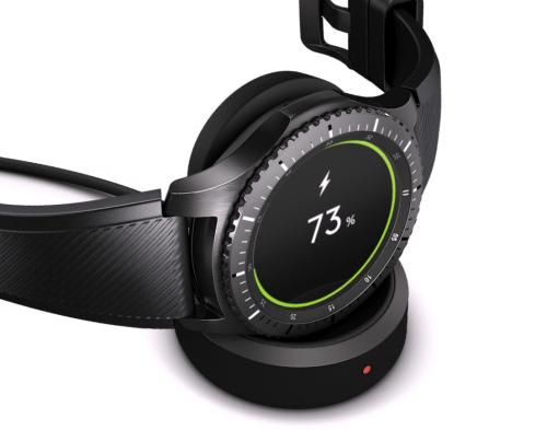 Samsung Gear S3 Şarj