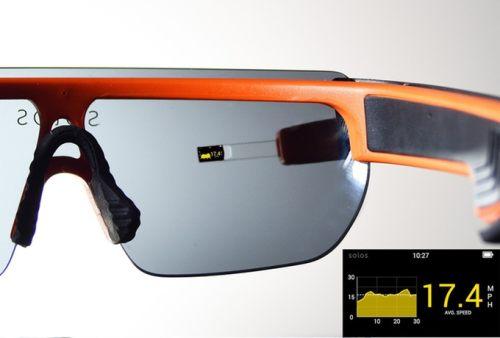 Solos Akıllı Gözlük Verileri
