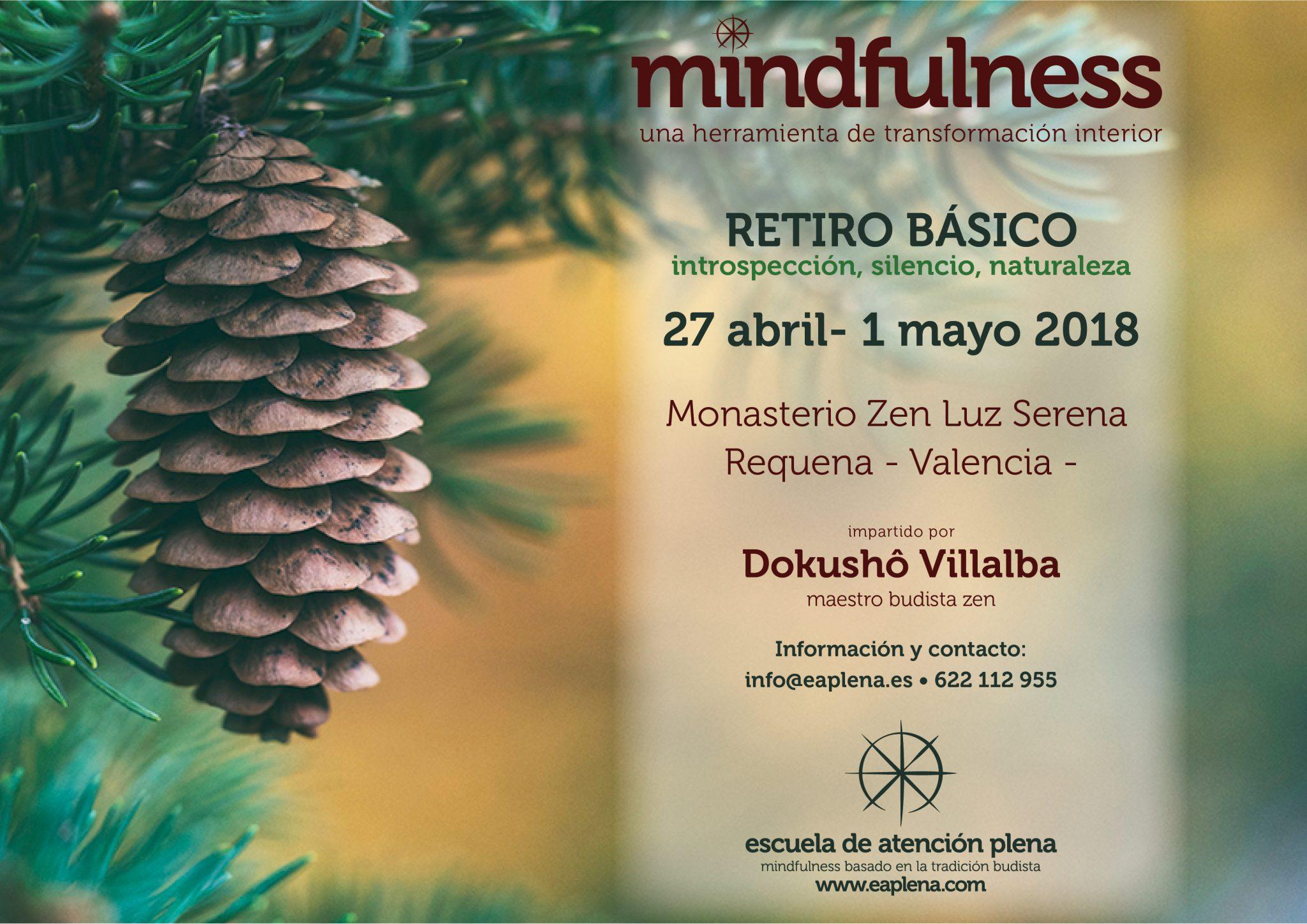 Retiro de mindfulness basado en la tradición budista