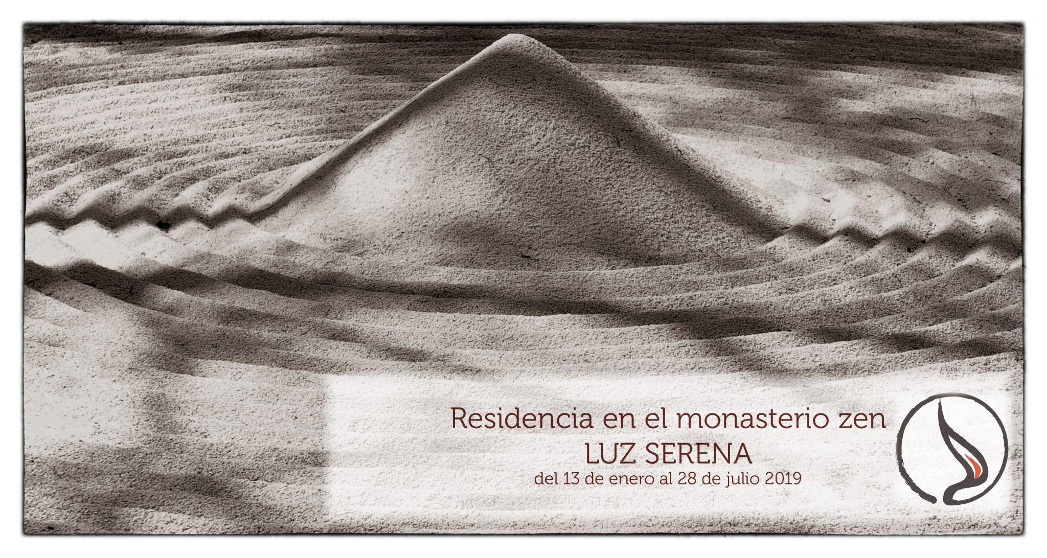 Vivir en el monasterio zen Luz Serena