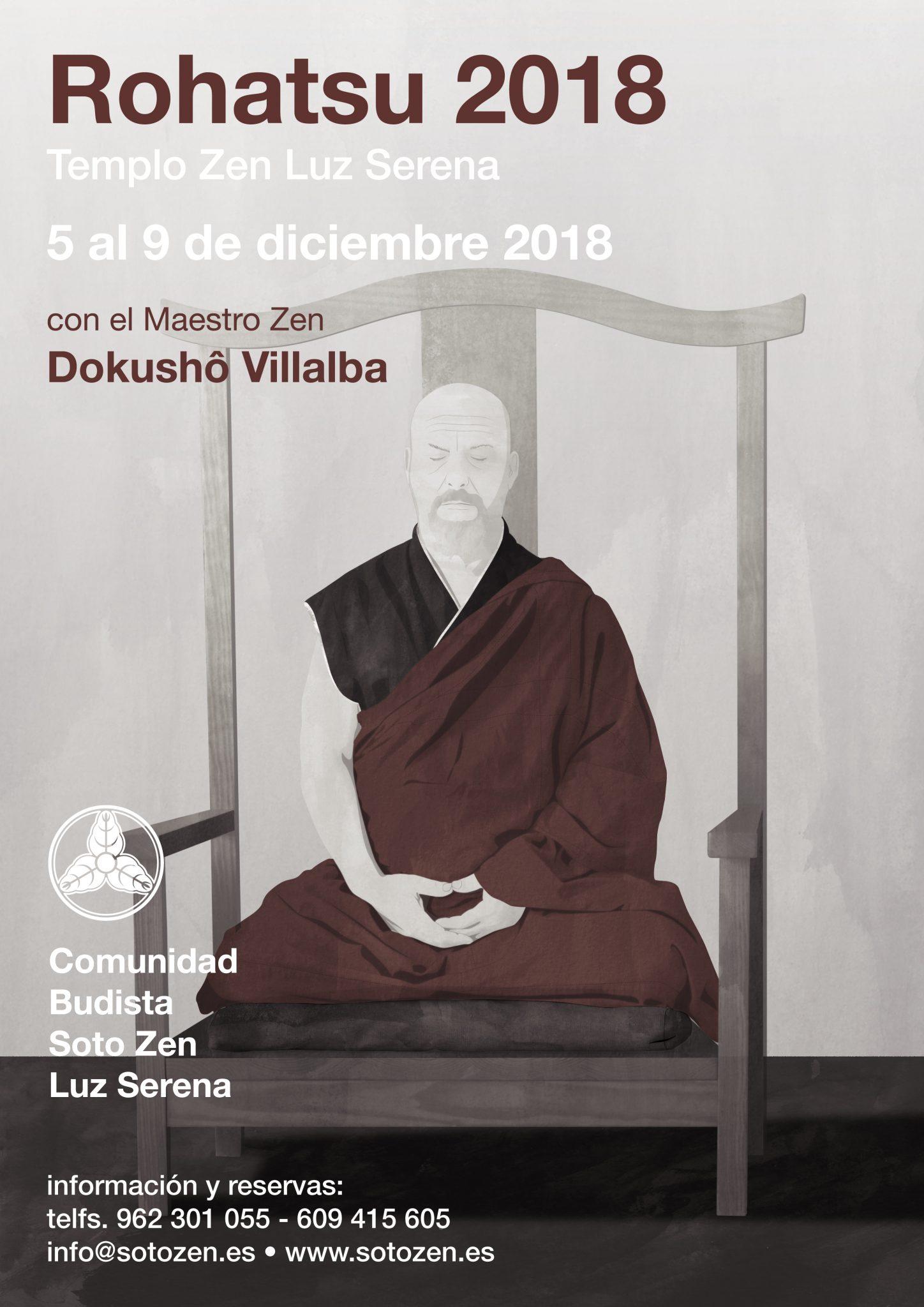 Rohatsu sesshin 2018