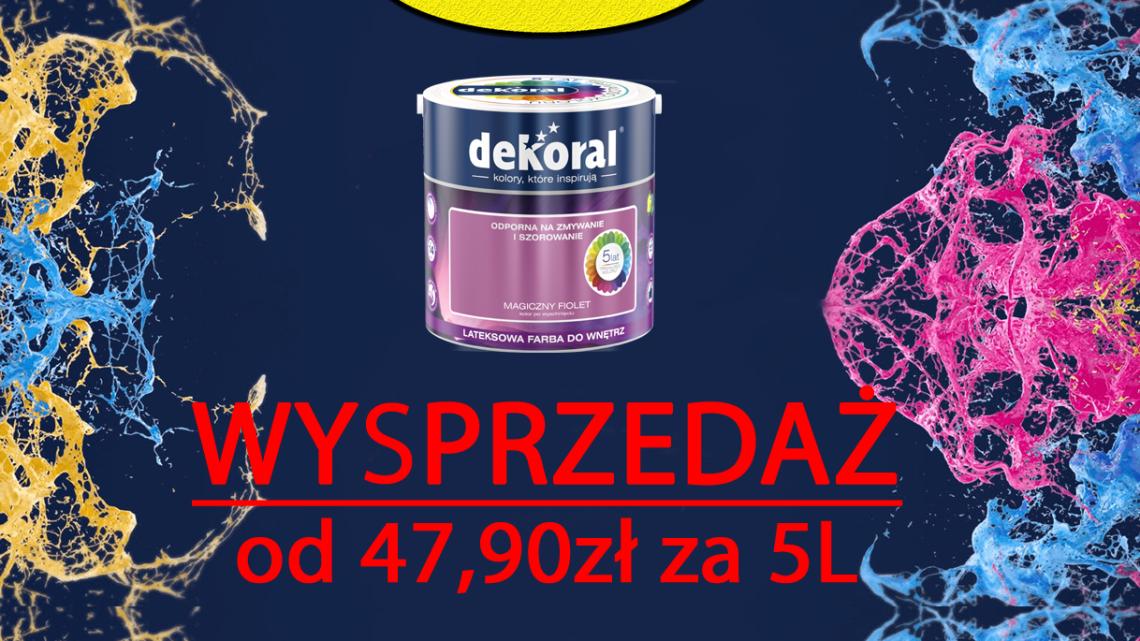 Wysprzedaż farb Akrylit W :)