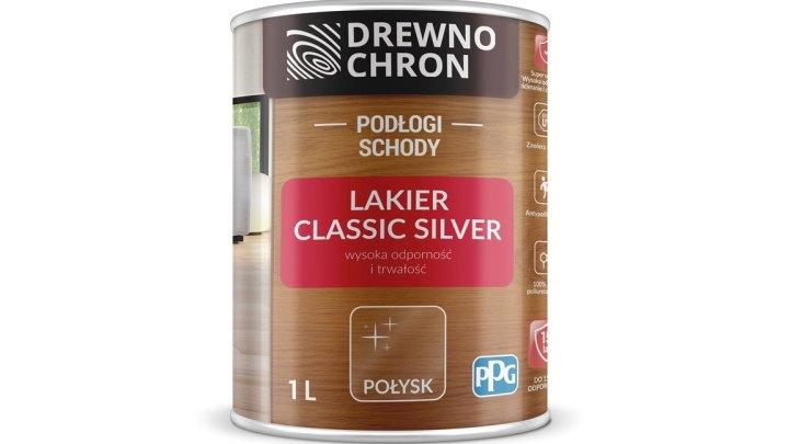 Drewnochron Lakier Classic Silver