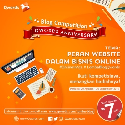 lomba blog september 2019 qwords peranan website dalam bisnis online