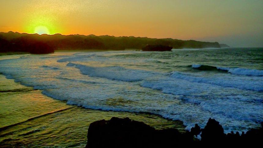Pantai Krakal Pantai Krakal Sunrise - Dolan Dolen