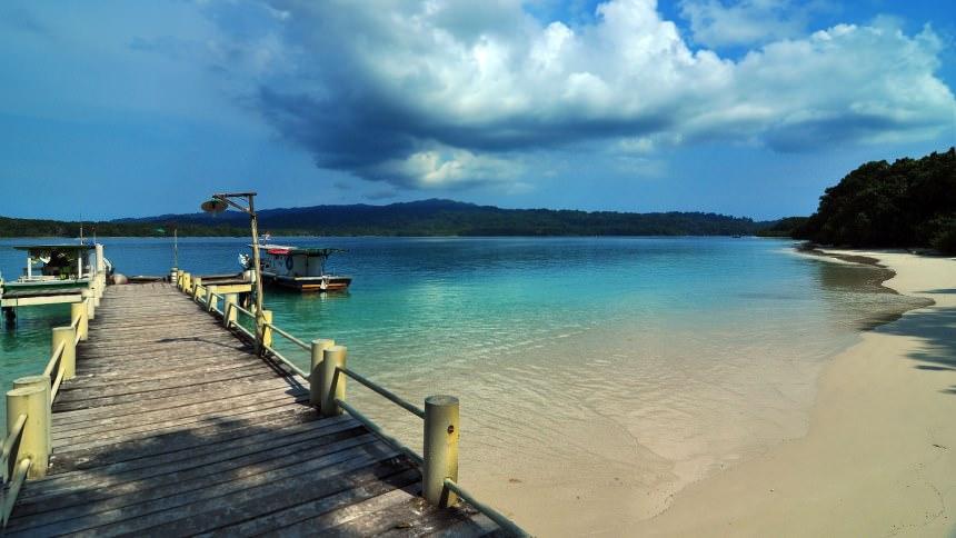 Dermaga Pulau Peucang Dermaga Pulau Peucang - Dolan Dolen