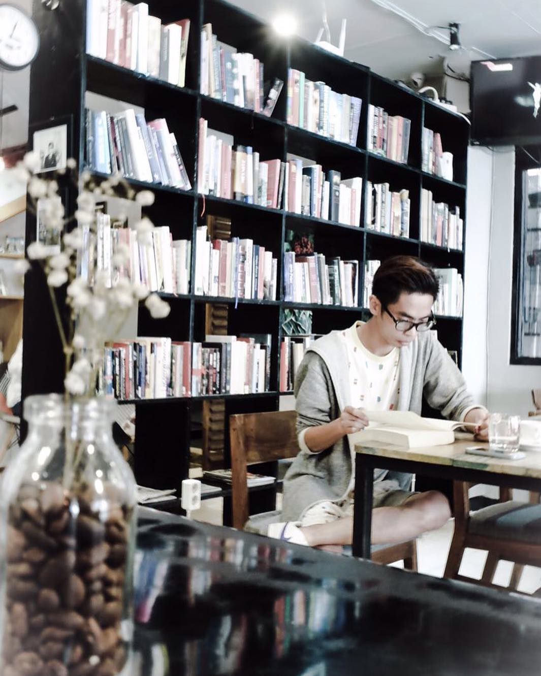 Blanco Coffee and Books, Blanco Coffee and Books Yogyakarta, Yogyakarta, Dolan Dolen, Dolaners Blanco Coffee and Books via didirodiman - Dolan Dolen