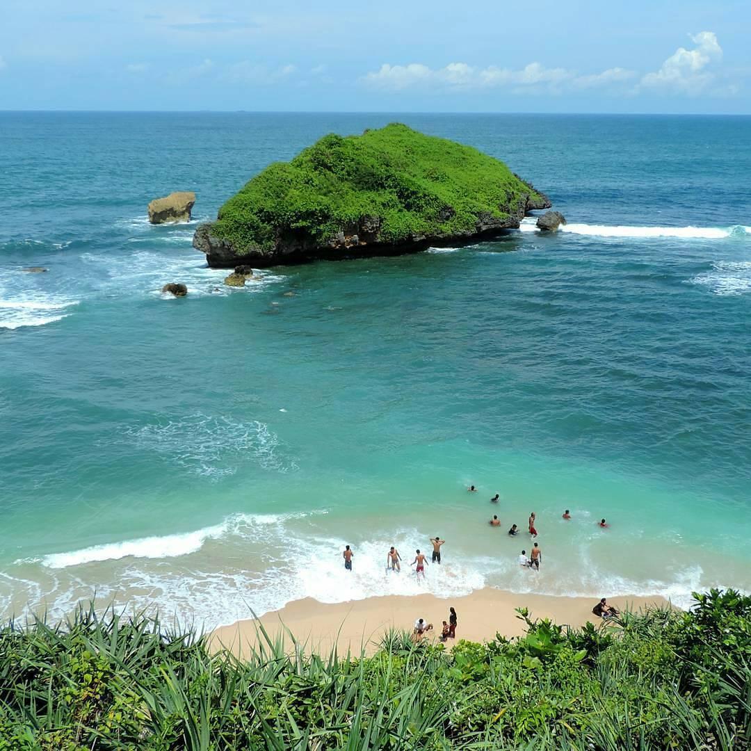 Pantai Ngandong, Pantai Ngandong Yogyakarta, Yogyakarta, Dolan Dolen, Dolaners