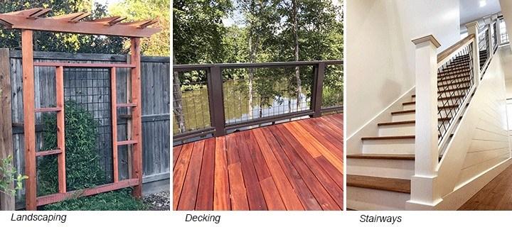 Wild Hog Railing Opens New Creative Choices Dolan Lumber   New Railings For Outdoor Stairs   Railing Kits   Metal   Aluminum   Railing Ideas   Wood
