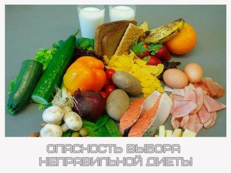 Opasnost vybora nepravilnoj diety