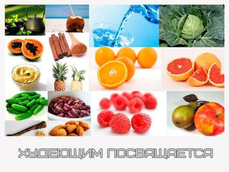 Десять лучших продуктов для ускорения обмена веществ
