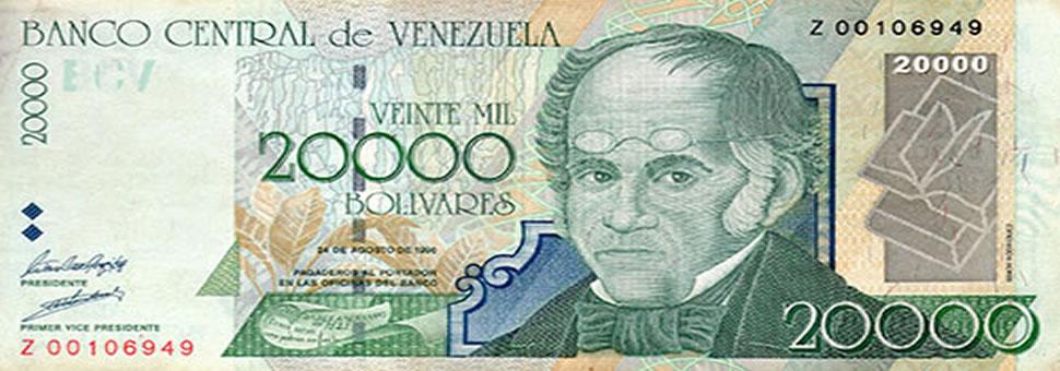 Nuevos billetes empezarán a circular en Venezuela el 16 de enero
