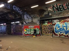 Dolar One painting in Waterloo Tunnel