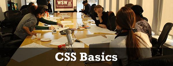 Codagogy: an insider review of the CSS Basics class