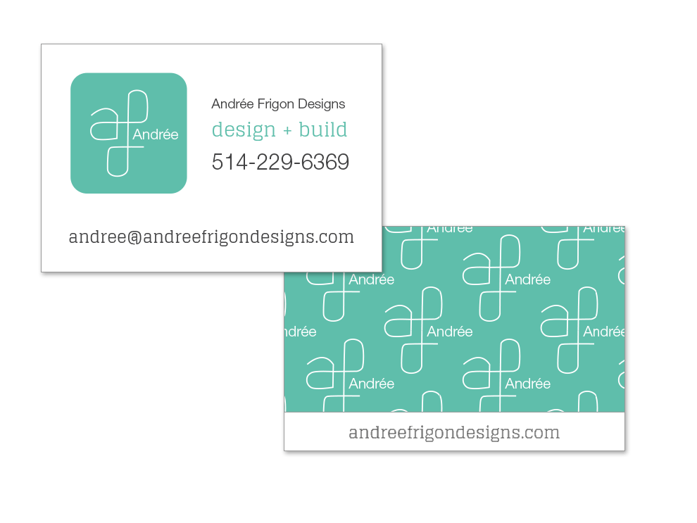 business card screenshot