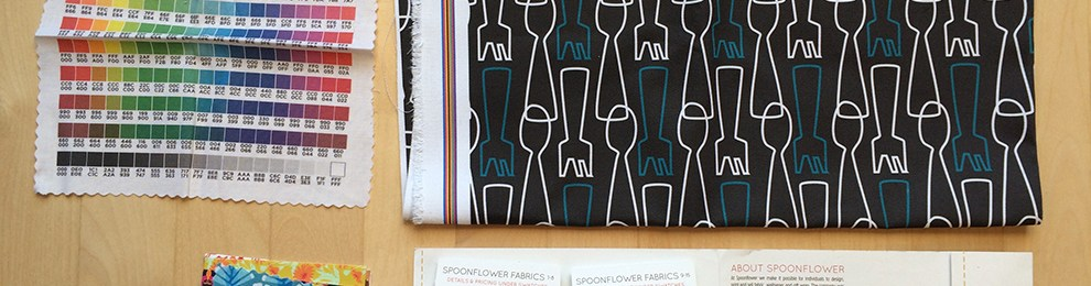 Forks 'n' Spoons on Fabric