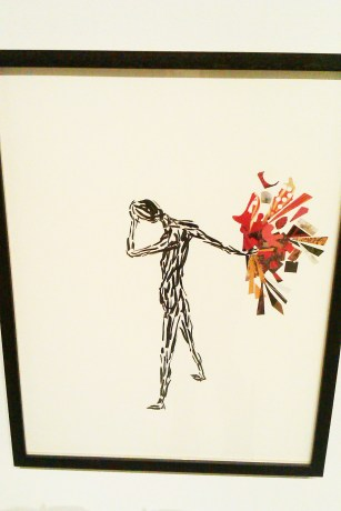 Colette-Urban-collage-ink-figure