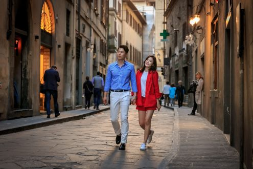 dolceitaliaphotography dolce italia photography florence engagement honeymoon photo shoot session e-session firenzesnap firenze snap tourist