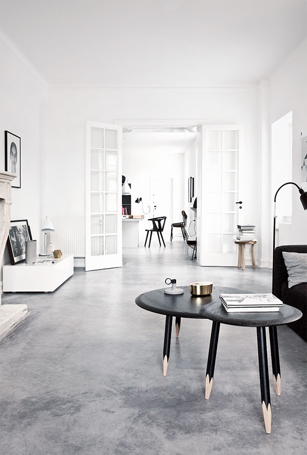 Concrete floors - http://stylejuicer.com/home-and-interior/interiors-crush-villa-polished-concrete-floors/
