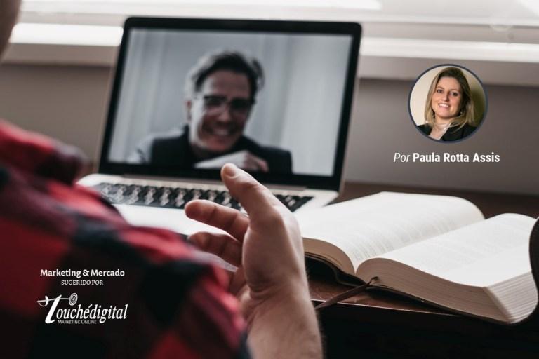 Uma era na qual a vídeo comunicação mudou a forma de se comunicar
