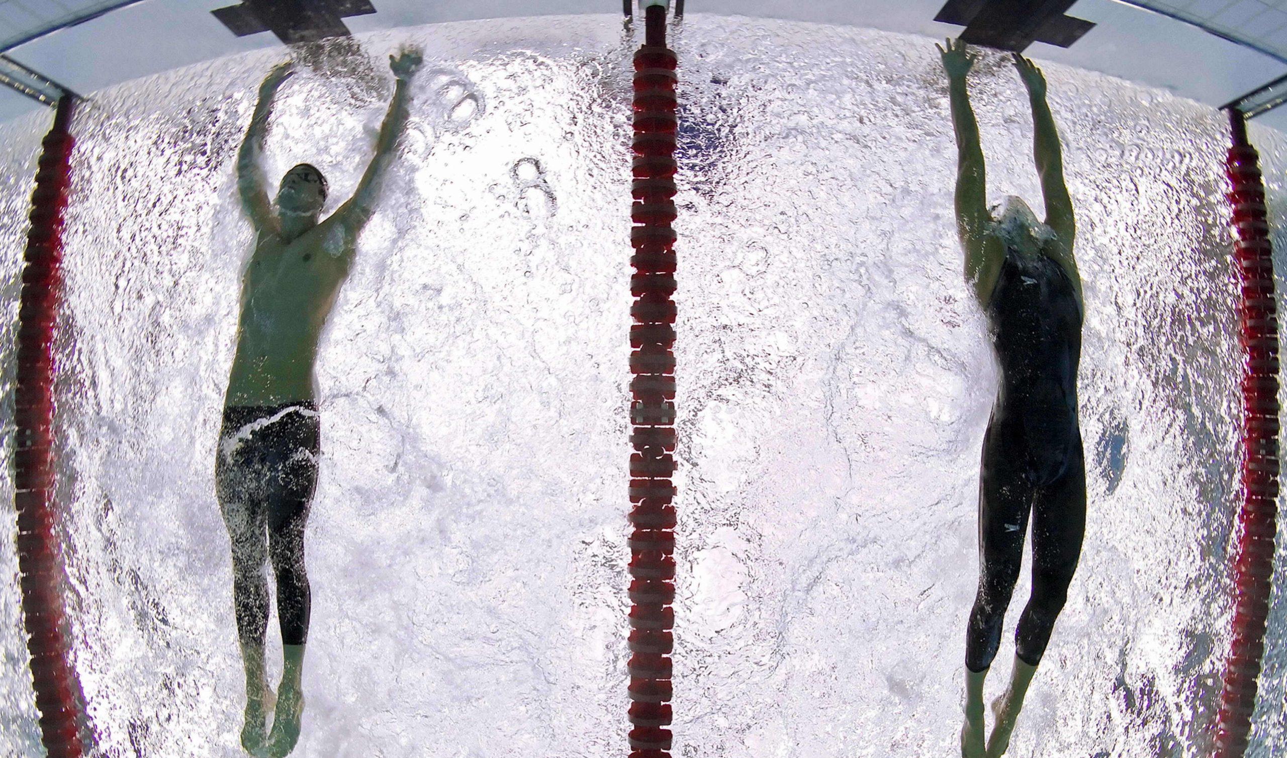 Phelps, Cavic e Woody Allen: la finale dei 100 delfino a Pechino 2008 1