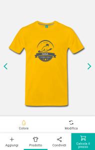 personalizza magliette da uomo