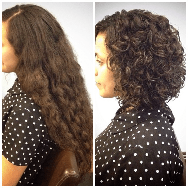 Curly Hair Dolce Vita Salon