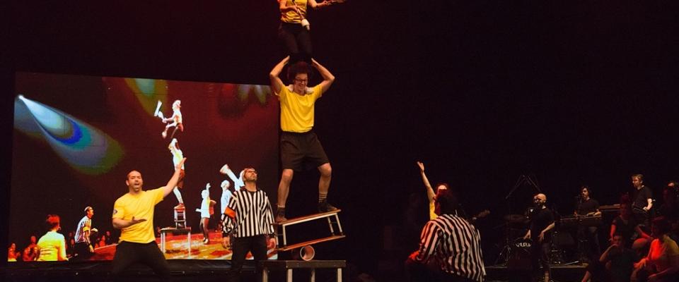 Impro-cirque jonglage