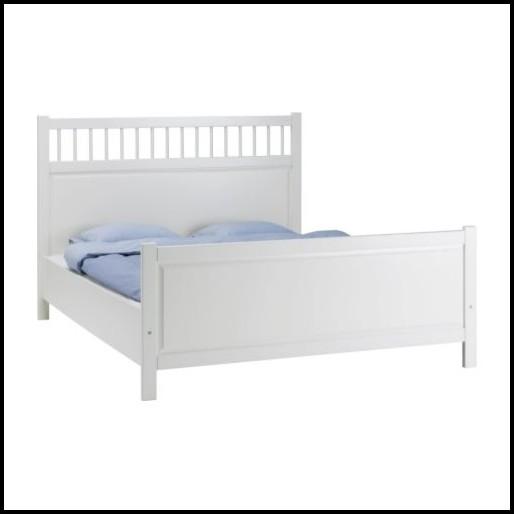 1 40 Bett Weiß