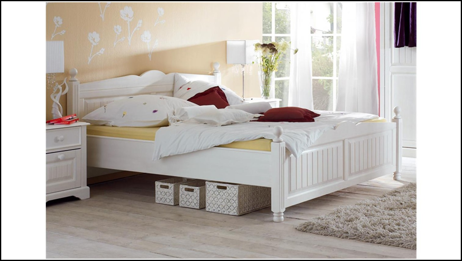 120 Cm Bett Weiß