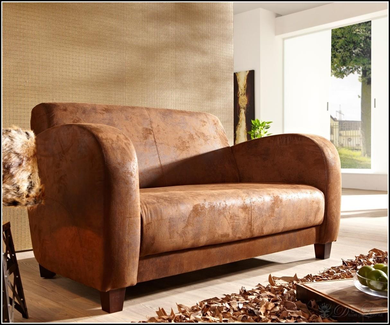 2 Sitzer Sofa Kunstleder