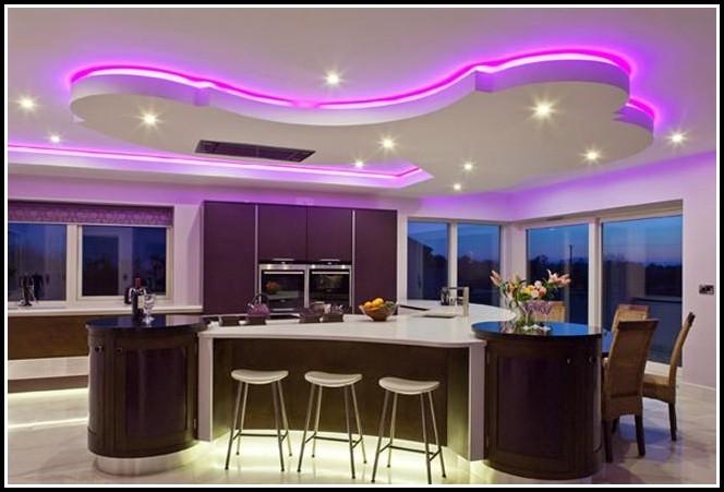 Abgehängte Decke Beleuchtung Küche