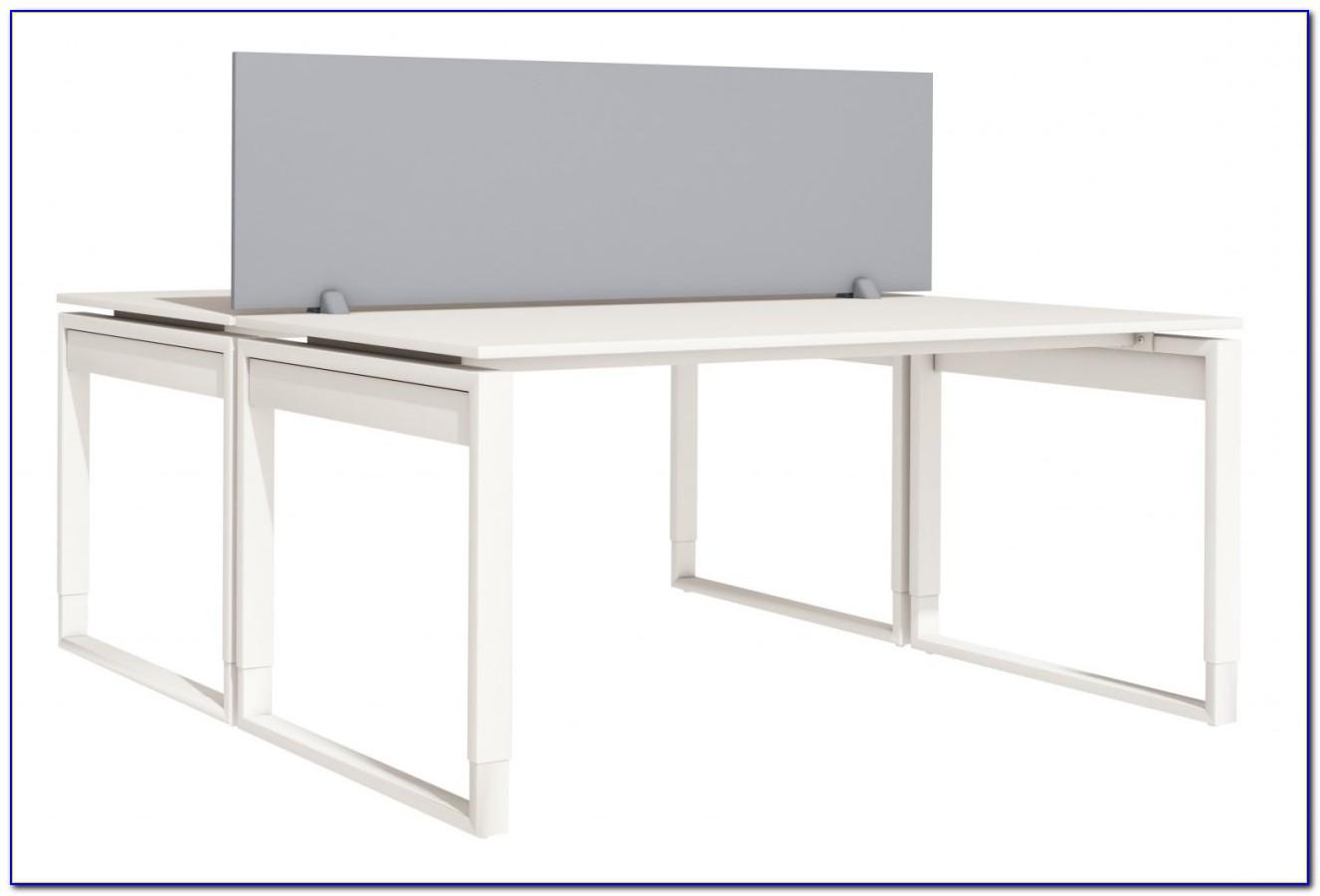 Akustik Trennwand Schreibtisch